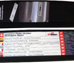 1-Stck-Kurz-Kennzeichenhalter-Modell-EVEN-460-TOP-Qualitt-auch-fr-gebogene-Stostangen-geeignet-inkl-4-x-Chr-B005N5GQ4G